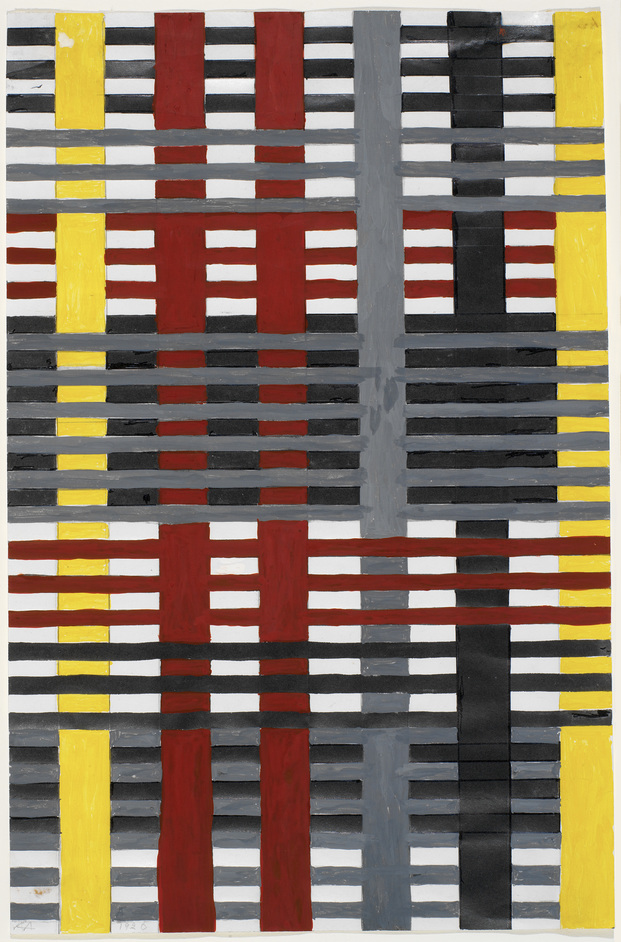 Anni Albers - Anni Albers Study for an unexecuted wallhanging 1926 © 2017 The Josef and Anni Albers Foundation/Artists Rights Society (ARS), New York/DACS, London. Photograph by Tim Nighswander/Imaging4Art
