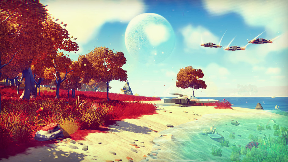 Videogames - No Man?s Sky, 2016 © Hello Games