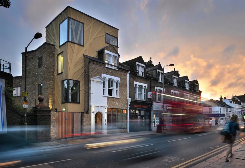 Tara Theatre - Tara Theatre view from High Street, photo: Philip Vine, 2016