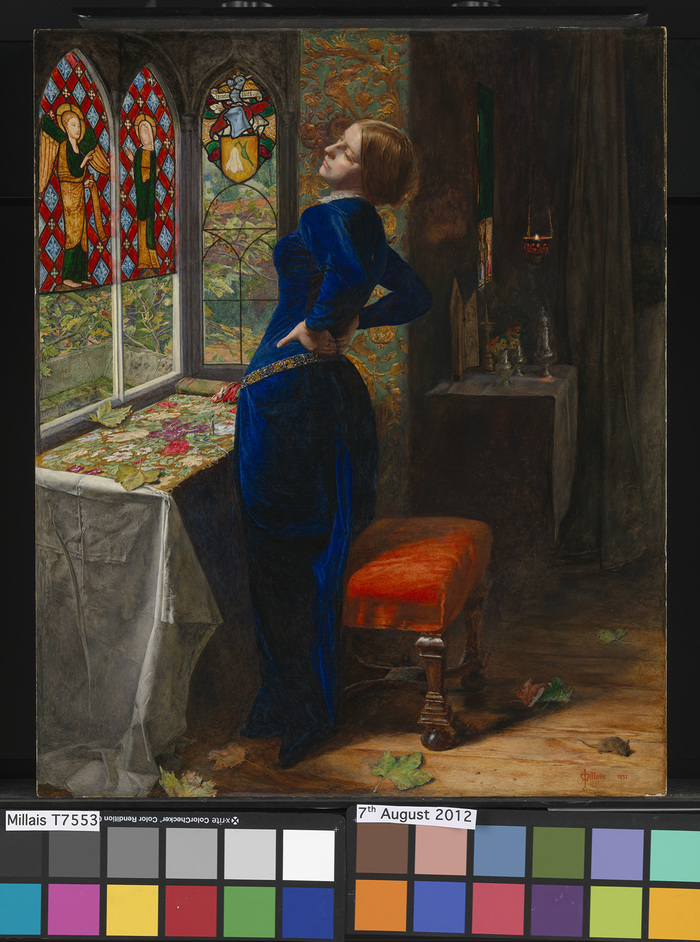 Reflections: Van Eyck and the Pre-Raphaelites - John Everett Millais Marianna 1851 (c) Tate, London 2015