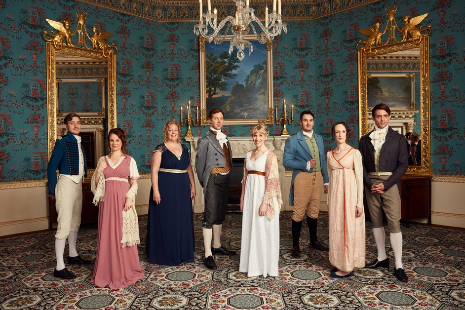 Austentatious: An Improvised Jane Austen Novel - Photo: Robert Viglasky