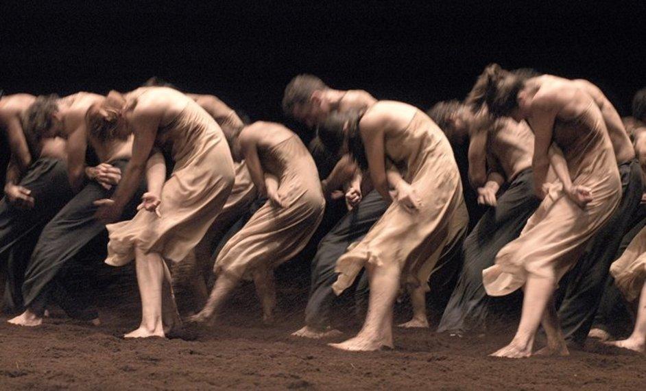 English National Ballet - Pina Bausch, William Forsythe and Hans van Manen - Tanztheater Wuppertal Pina Bausch, Le Sacre du printemps, photo by Ulli Weiss