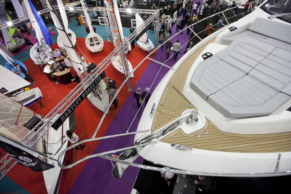London Boat Show - London Boat Show, 2017. Photo: onEdition