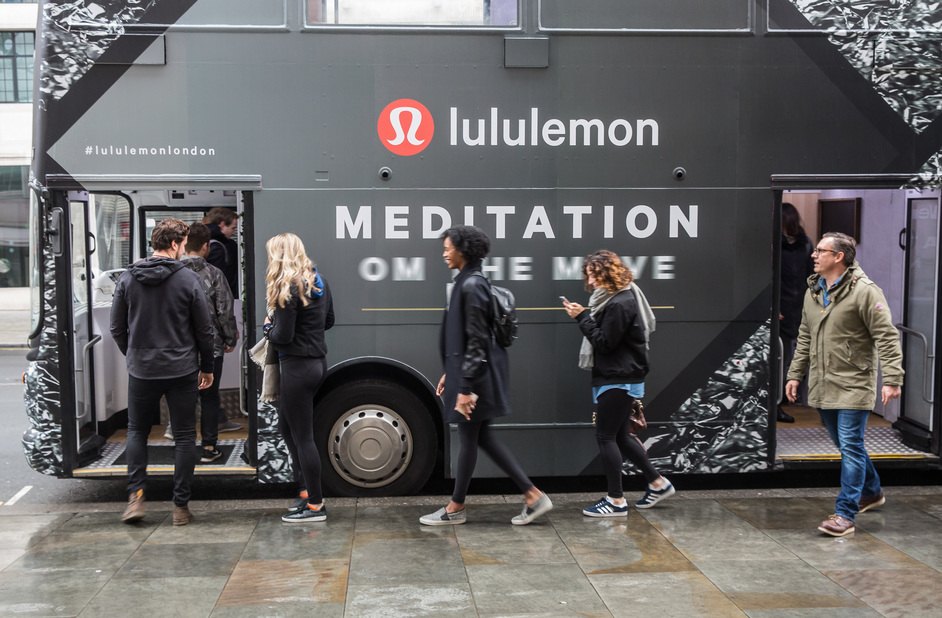 Lululemon: Meditation OM the Move