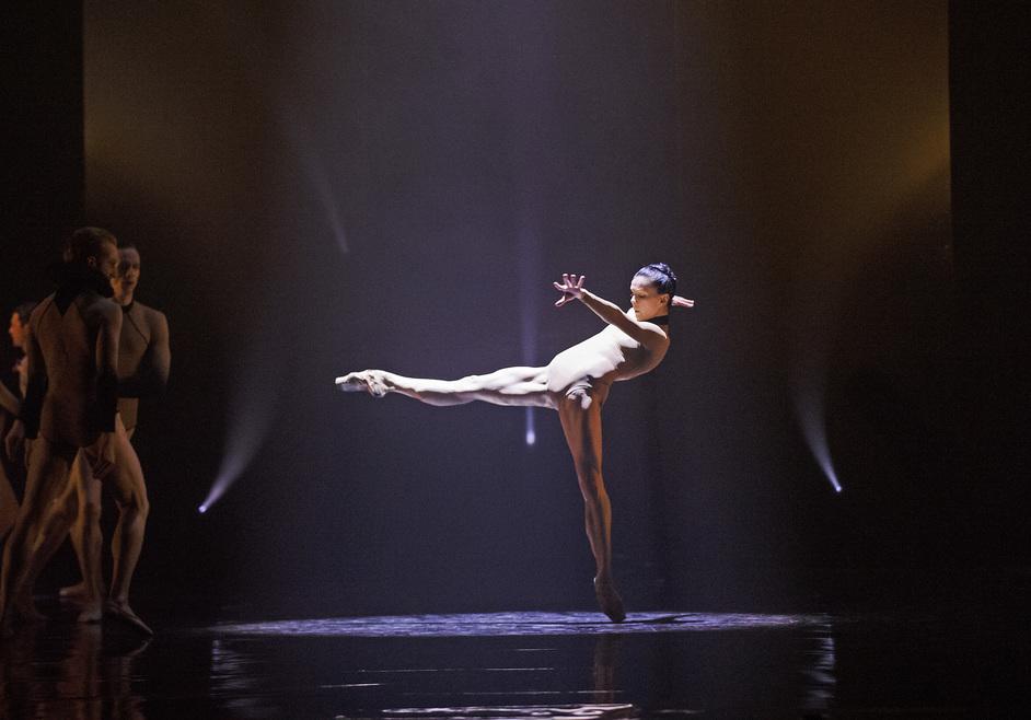 Royal Ballet: Woolf Works - Natalia Osipova (c)ROH, 2015 Photographed by Tristam Kenton.