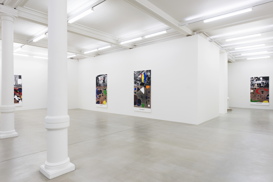 Marian Goodman Gallery - Installation view of John Baldessari at Marian Goodman Gallery. Photo: Thierry Bal