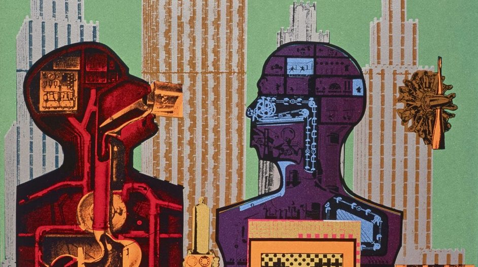 Eduardo Paolozzi - Eduardo Paolozzi, Wittgenstein in New York (c) Trustees of the Paolozzi Foundation
