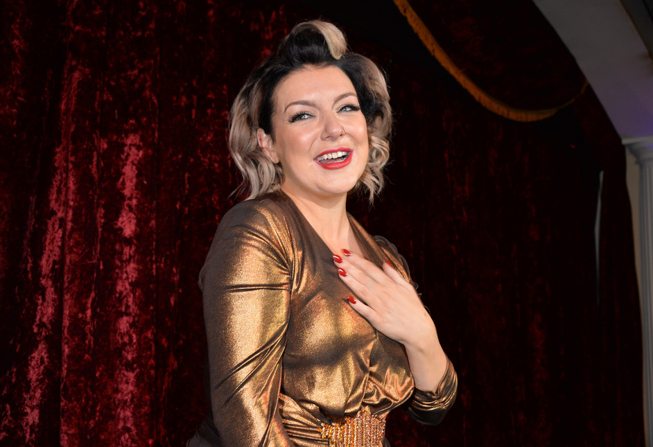 Bunga Bunga Covent Garden - Sheridan Smith performing at the opening, 12th January 2017