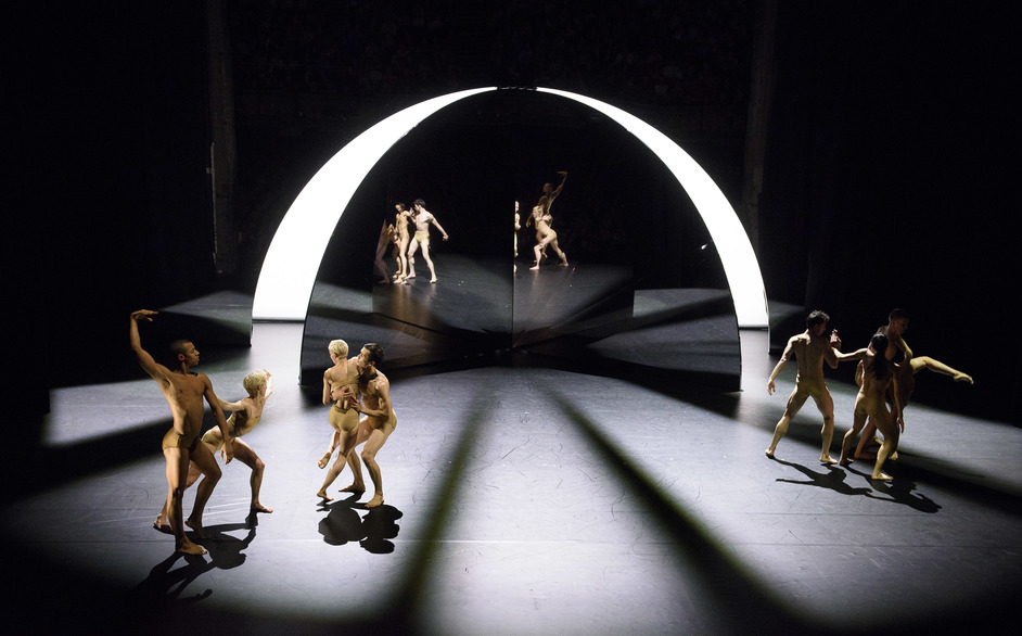 Company Wayne McGregor / Paris Opera Ballet - Tree Of Codes - MIF15, Tree of Codes, photographer Joel Chester Fildes