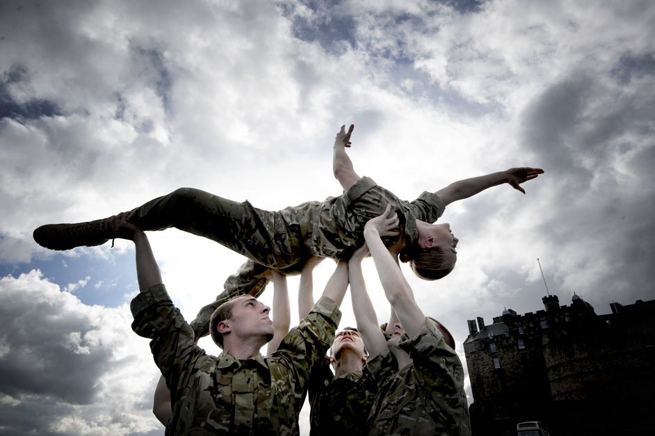 Rosie Kay Dance Company: 5 SOLDIERS: The Body is the Frontline - Rosie Kay Dance Company, 5 Soldiers: The Body is the Frontline, photo by Colin Hattersley
