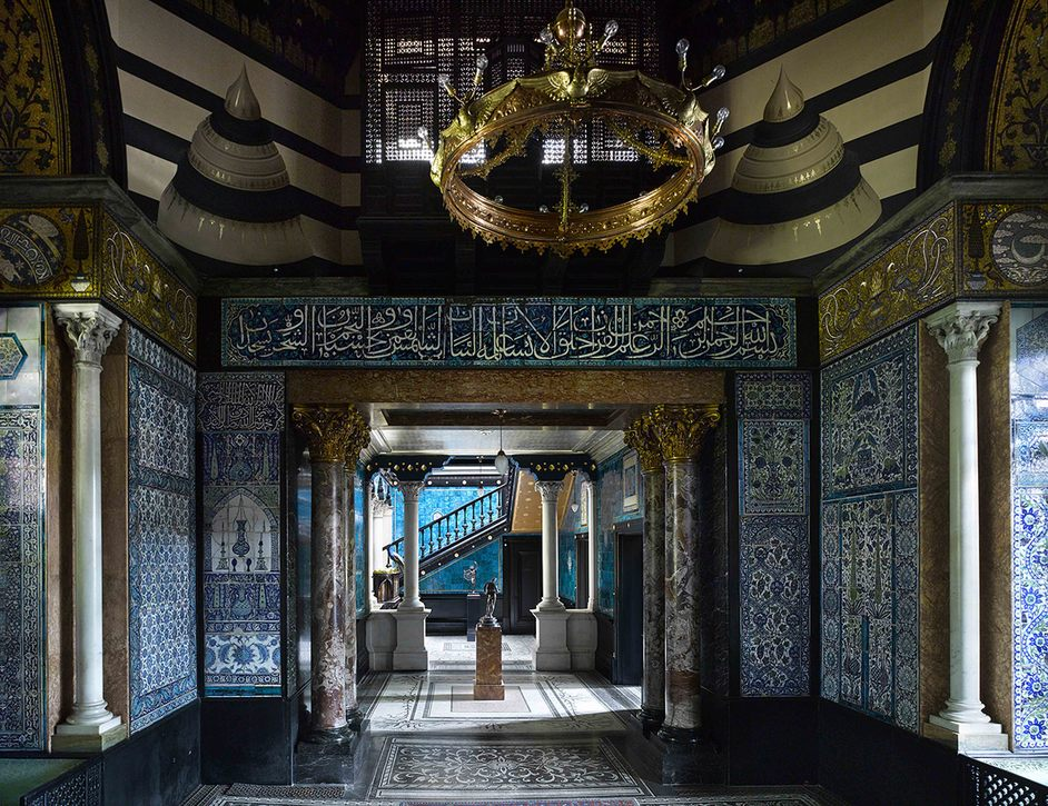 Leighton House Museum - The Arab Hall, image courtesy of Leighton House Museum and Justin Barton