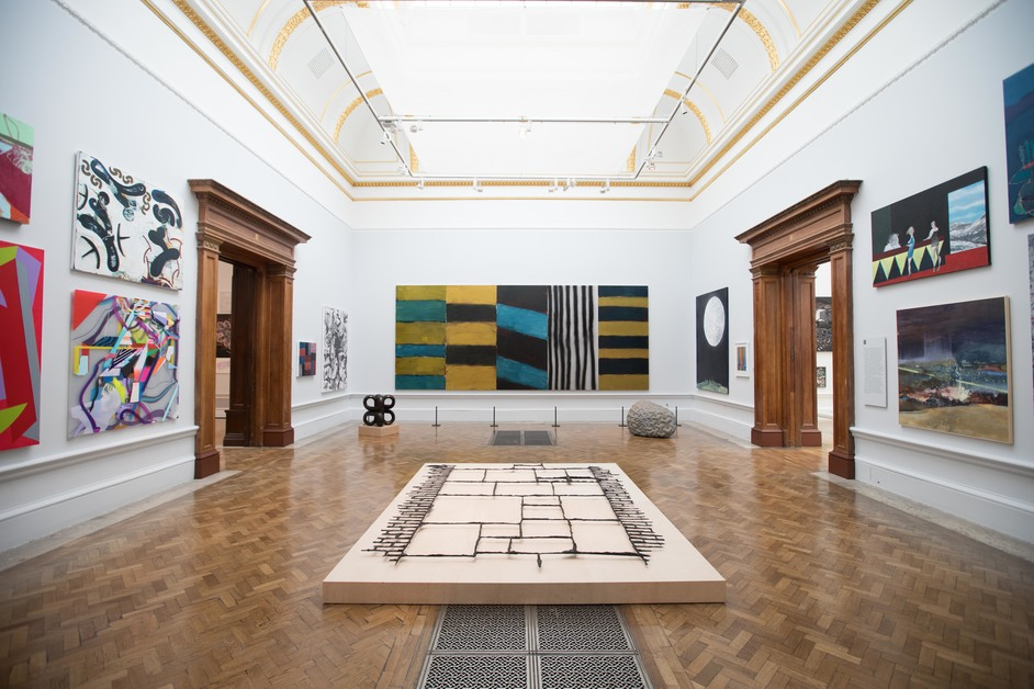 Royal Academy Summer Exhibition - Installation view of the Summer Exhibition 2017 Photo (c) David Parry