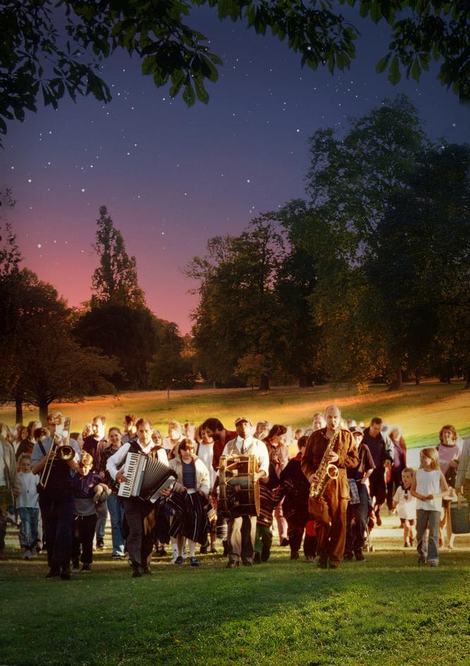 Tales From The Arabian Nights - Photo: London Bubble Theatre Company