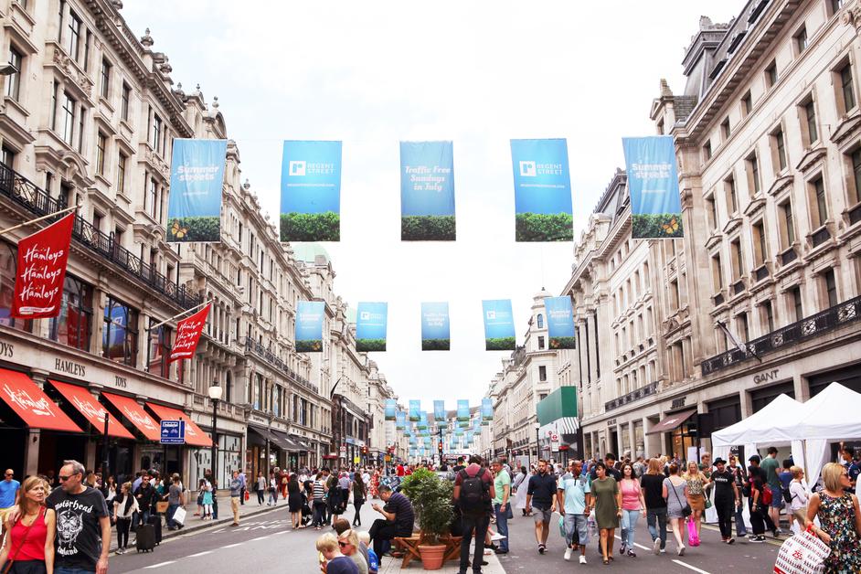 Regent Street - Regent Street Summer Streets