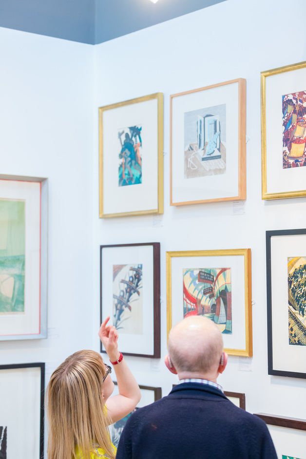The London Original Print Fair 2017