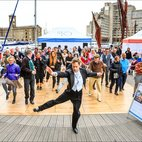 Tea Dance at St Katharine Docks