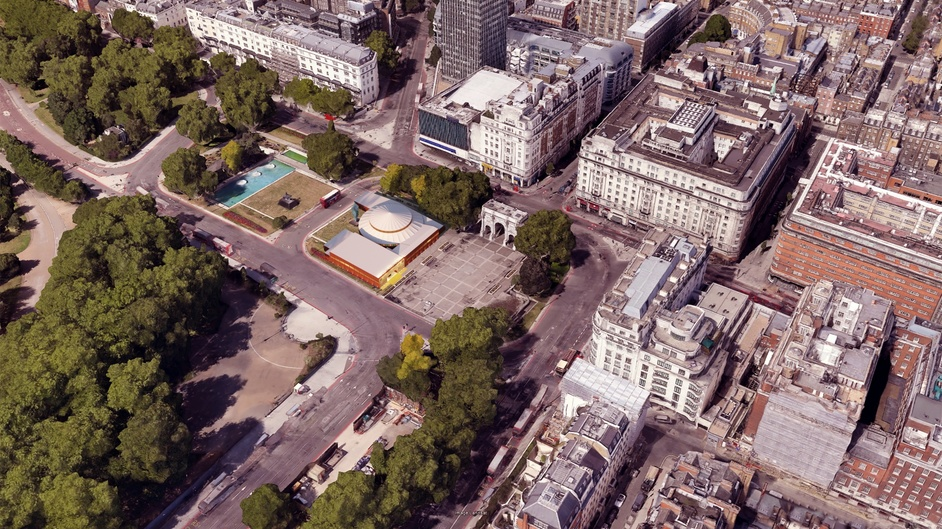 Marble Arch Theatre - Artist's impression, Marble Arch Theatre. Photo: Imaginar