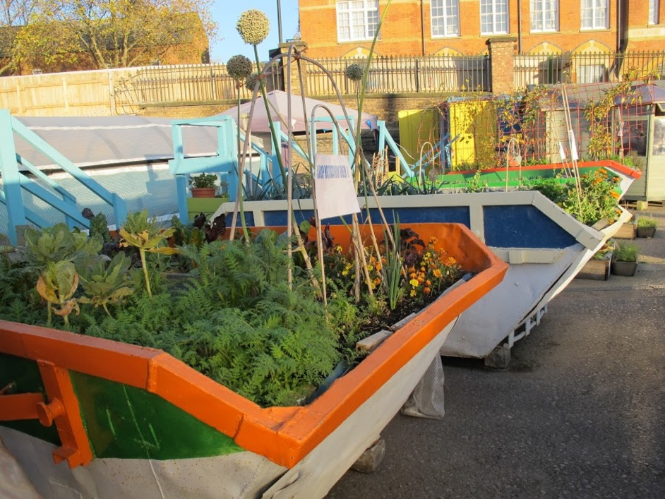 Open Garden Squares Weekend - The Skip Garden N1 (c) Diana Jarvis for Open Garden Squares Weekend