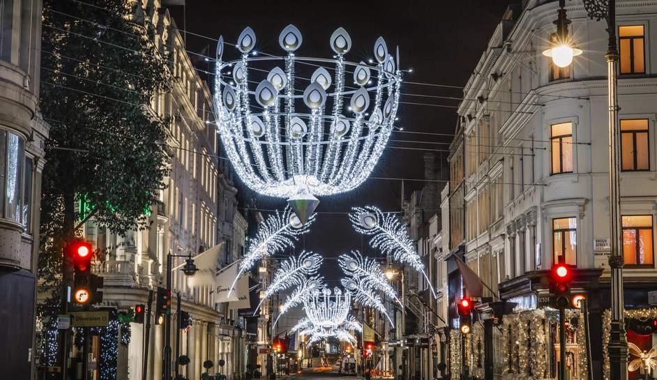 Bond Street Christmas Lights