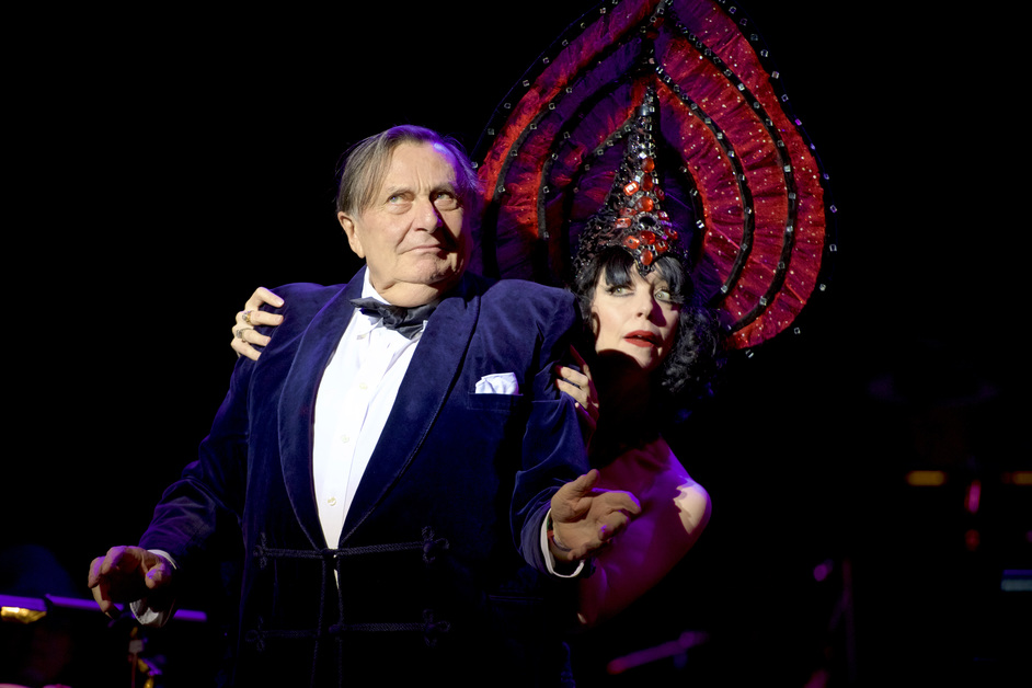 Barry Humphries: Weimar Cabaret - Barry Humphries' Weimar Cabaret, Barry Humphries and Meow Meow. Photo: Brian Anderson / Getty Images