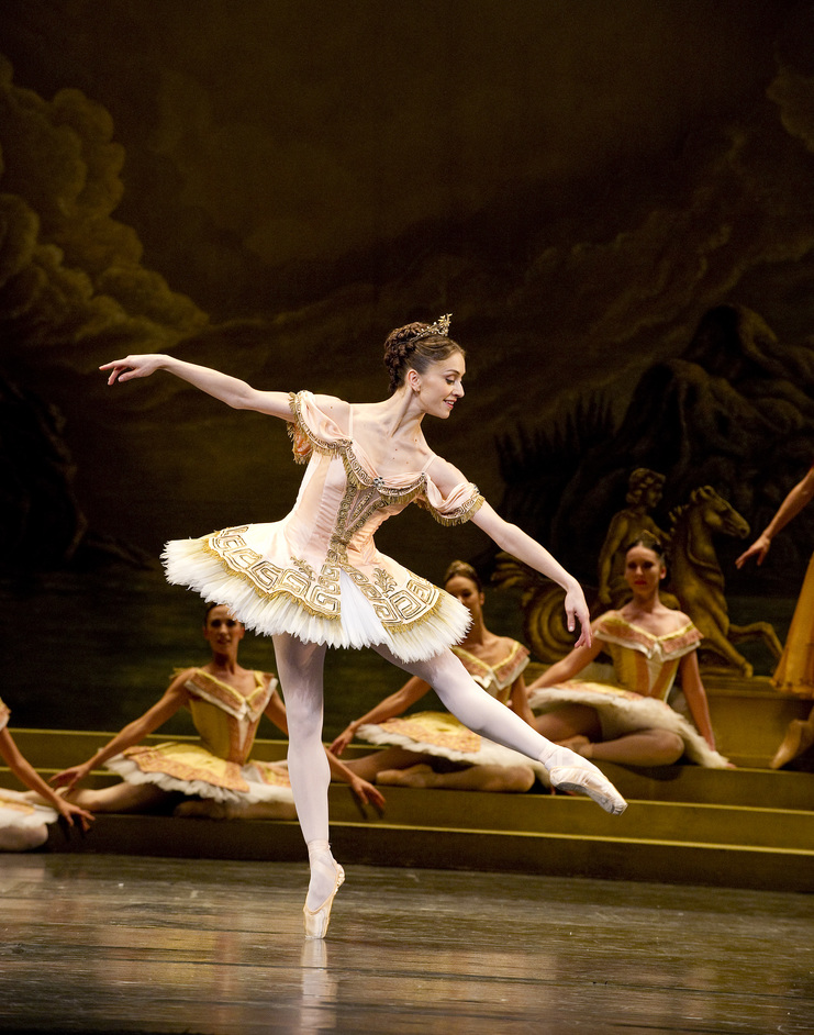 The Royal Ballet: Sylvia - Marianela Nunez as Sylvia © Tristram Kenton, Royal Opera House, 2011