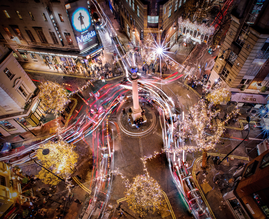 Seven Dials Christmas Lights & Shopping Evening