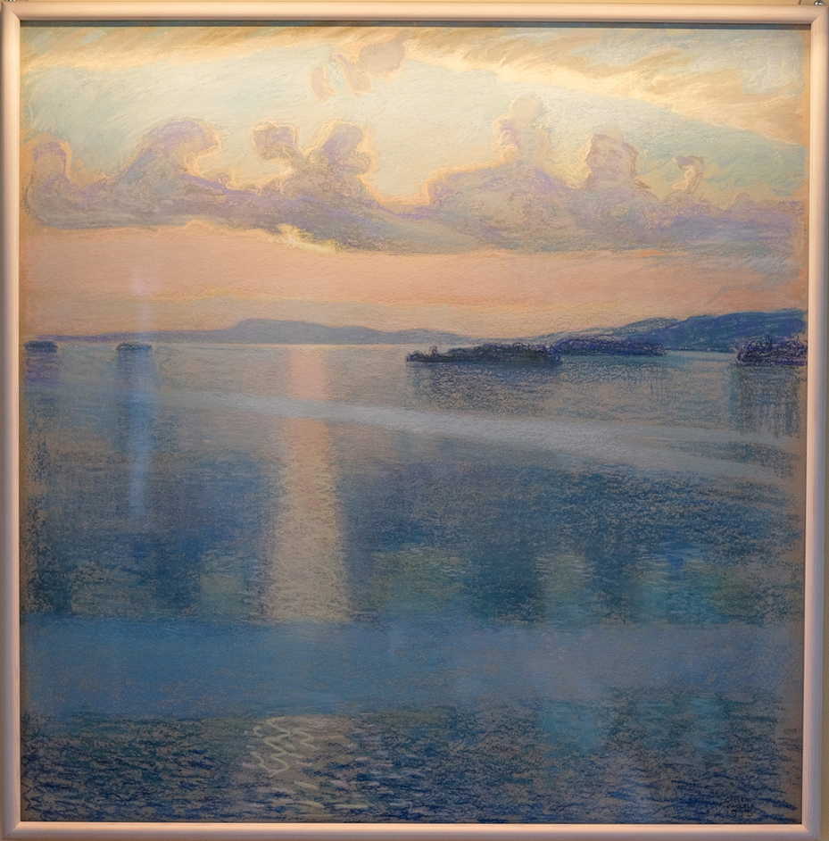 Lake Keitele: A Vision of Finland - Akseli Gallen-Kallela Lakeside Landscape, 1915. Private collection (c) Photo courtesy of the owner