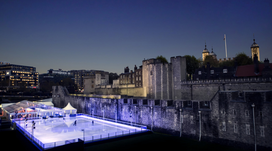 Tower of London Ice Rink - Photo by LeftfieldImagescom