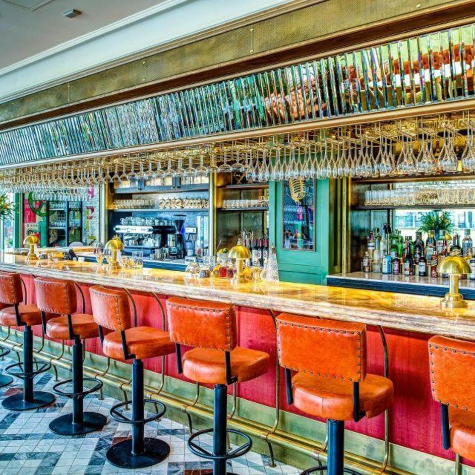 34 Mayfair Bar Counter