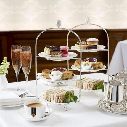 Afternoon Tea at Caffe Concerto - Shaftsbury Av