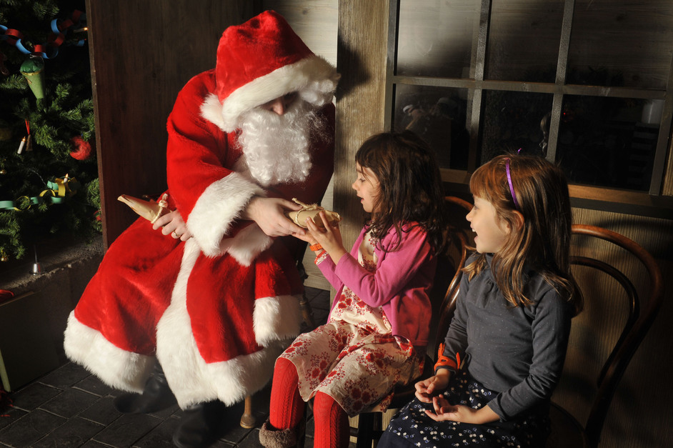 Santa's Victorian Grotto at the Museum of London - © Museum of London