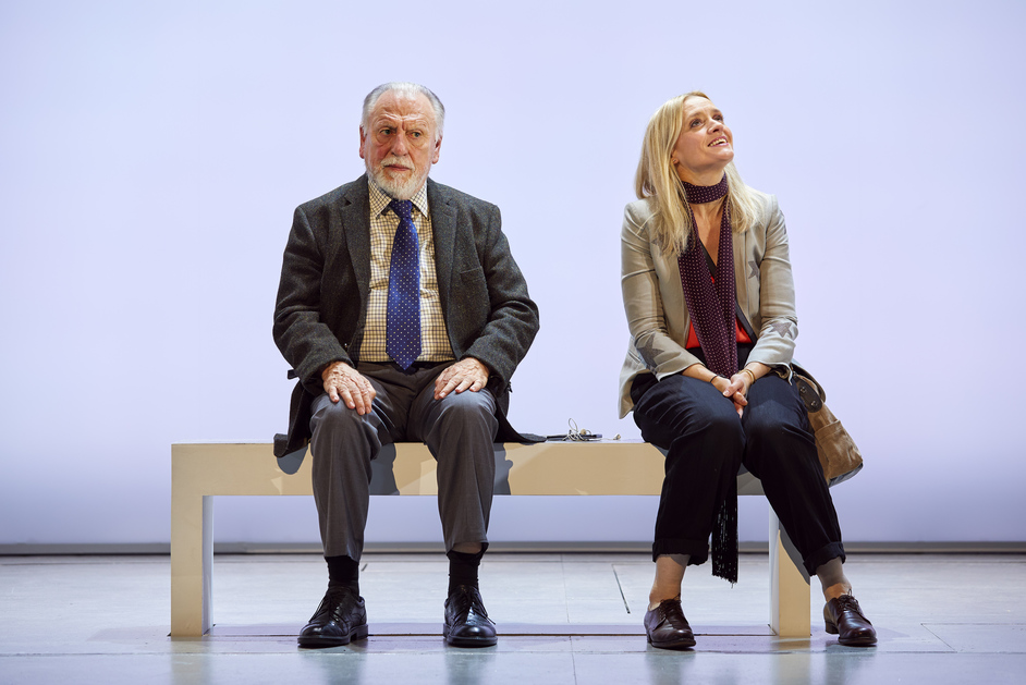 Heisenberg: The Uncertainty Principle - Kenneth Cranham and Anne-Marie Duff, photo by Brinkhoff Morgenberg