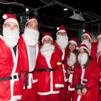London Santa Dash hotels title=