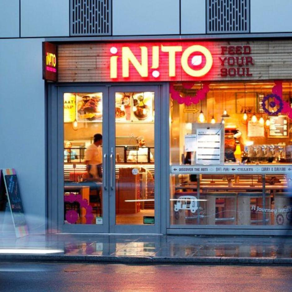 Inito bell lane online booking london restaurants for Cafe le jardin bell lane london