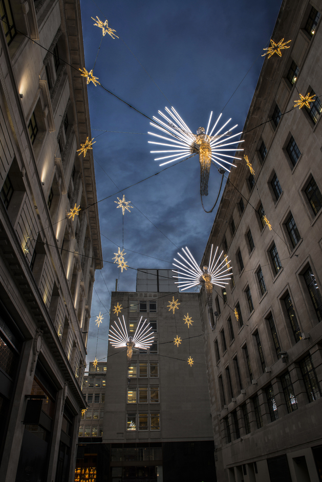 St James's Market Christmas Lights