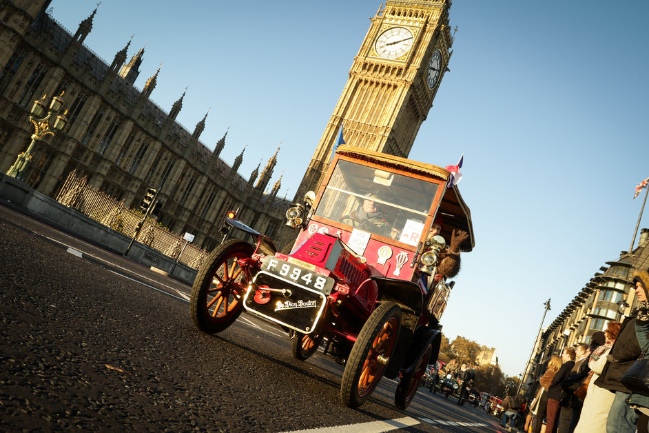 London to Brighton Veteran Car Run at Hyde Park | Mayfair London ...