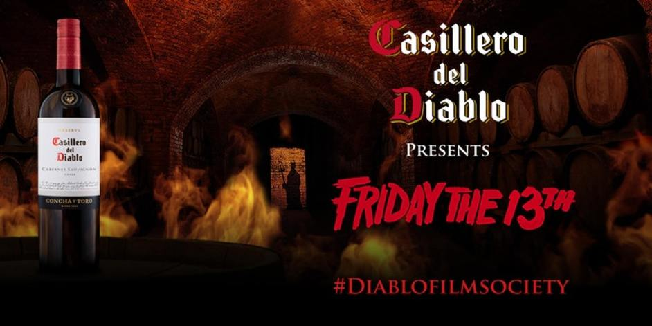 Casillero del Diablo presents Friday the 13th