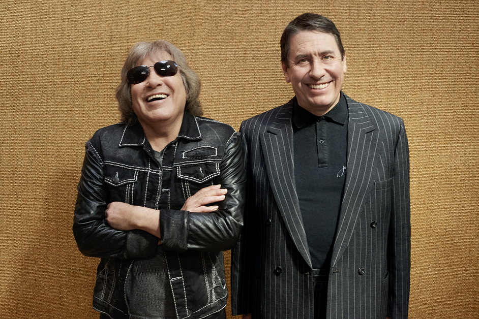 Jools Holland & His Rhythm & Blues Orchestra - Jose Feliciano and Jools Holland. Photographer: Mary McCartney