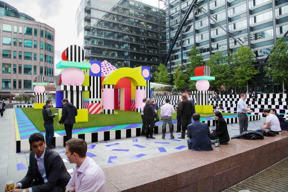 The London Design Festival - Villa Walala, Exchange Square, Broadgate