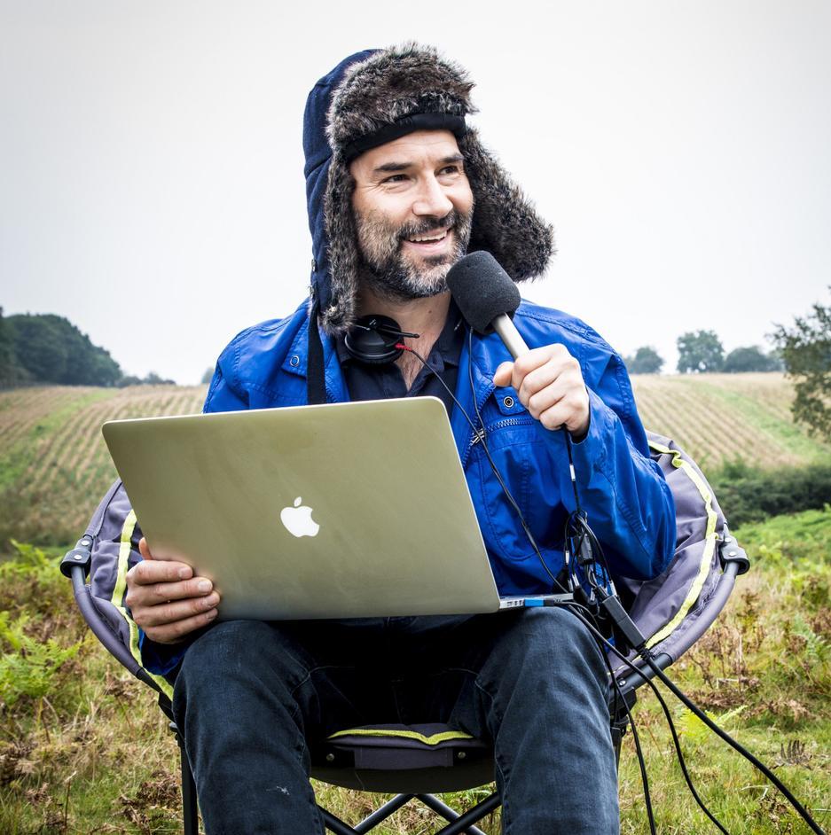 London Podcast Festival - Adam Buxton, photo by Matt Crockett