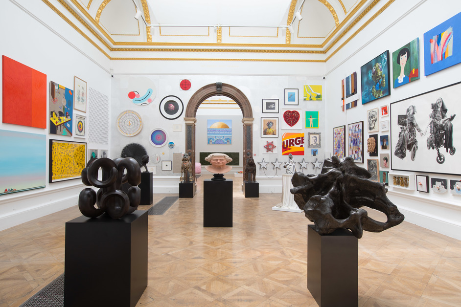 Royal Academy Summer Exhibition - View of Summer Exhibition 2018 (c) David Parry
