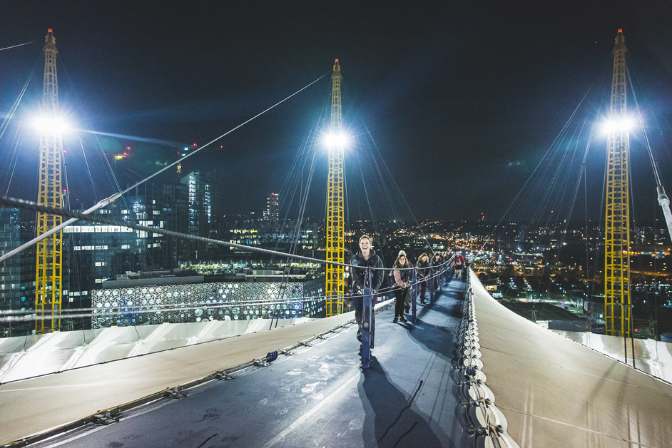 O2 Walkway: Up At The O2
