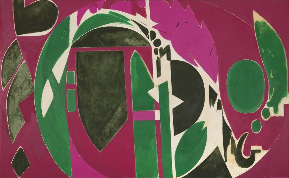 Lee Krasner: Living Colour - Lee Krasner, Palingenesis, 1971, Collection Pollock-Krasner Foundation © The Pollock-Krasner Foundation, courtesy Kasmin Gallery, New York