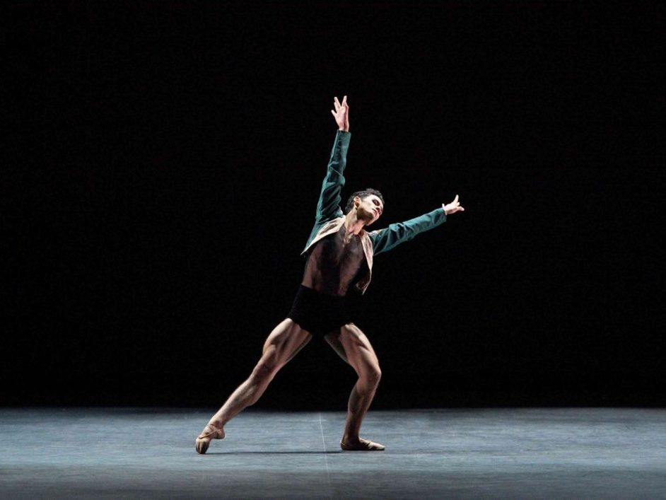 English National Ballet: Emerging Dancer - Daniel McCormick, the 2018 Emerging Dancer winner © Laurent Liotardo
