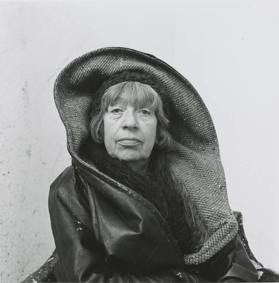 Lee Krasner: Living Colour - Photograph by Irving Penn, Lee Krasner, Springs, NY, 1972 © The Irving Penn Foundation
