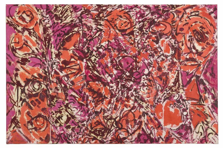 Lee Krasner: Living Colour - Lee Krasner, Icarus, 1964, Thomson Family Collection, New York City © The Pollock-Krasner Foundation, courtesy Kasmin Gallery, New York. Photo: Diego Flores