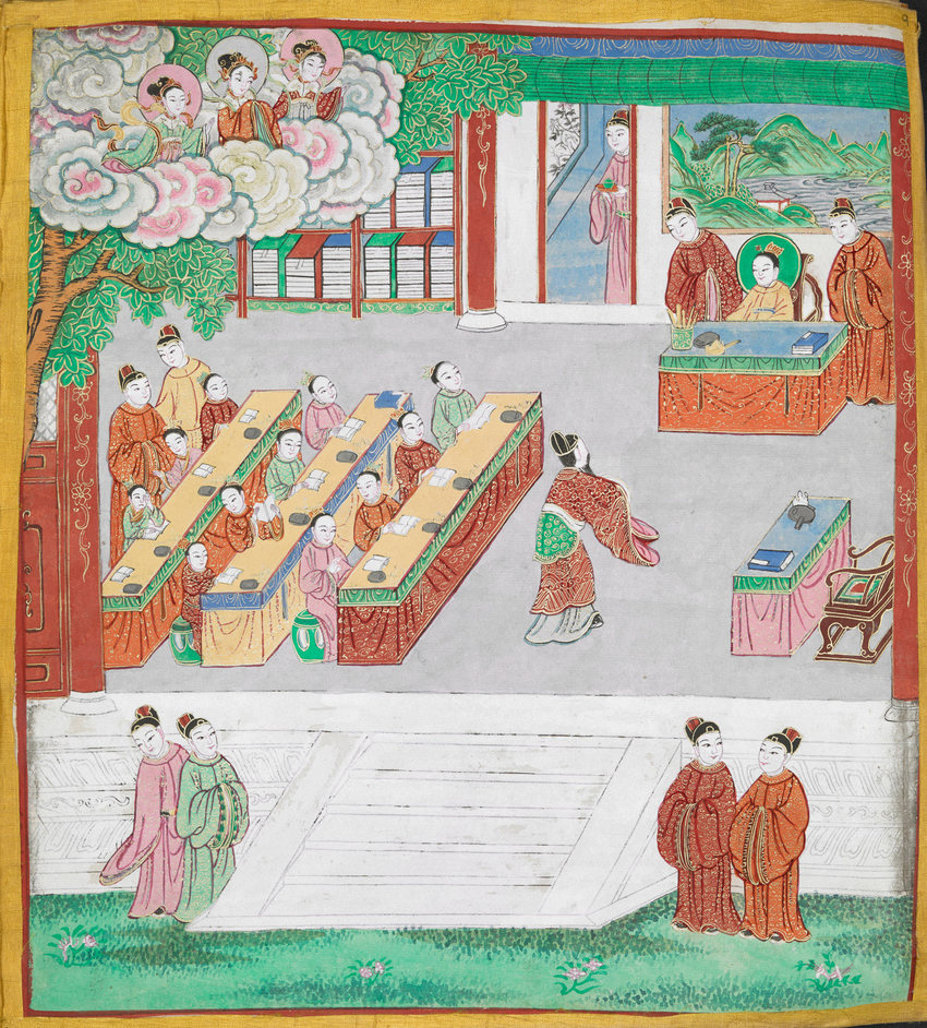 Buddhism - The Life of Buddha © British Library Board