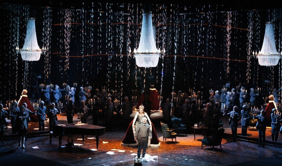 Royal Opera House: Queen Of Spades - The Queen of Spades at Dutch National Opera in 2016 © Karl and Monika Forster