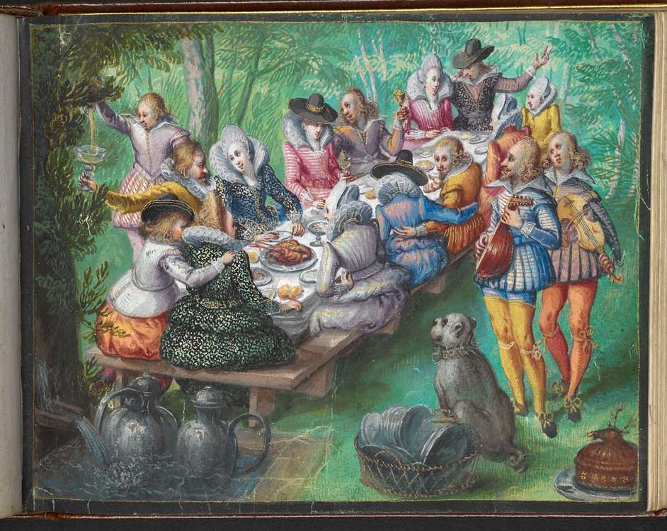 Friendship Before Facebook - From the friendship album of Moyses Walens of Cologne, Add MS 18991, 1605-1615 © British Library Board