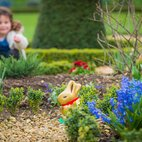 Easter Lindt Gold Bunny Hunt at Kensington Palace